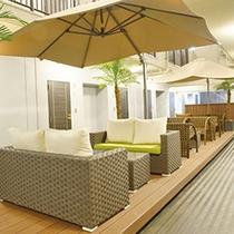 3階オープンスペース【喫煙所としてもご利用頂けます。】