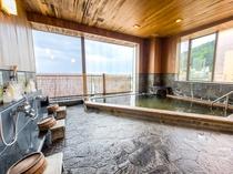 【大浴場(女湯)】最上階(5階)天然温泉