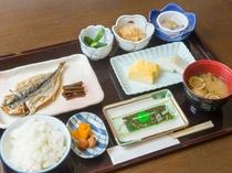 【朝食】(和食)