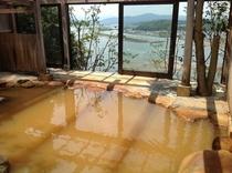 絶景の秘湯(露天風呂)