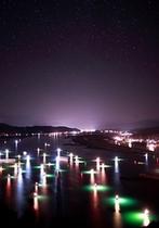 シラス漁の幻想的風景