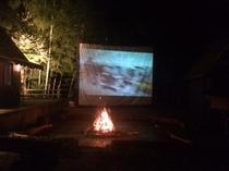 焚火と映画