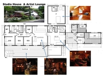 Studio Hpouse&Artist Lounje図面