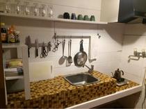 スタジオハウス共用キッチン