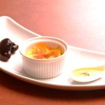 【夕食】ママの気まぐれ前菜3点盛り