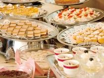 デザートも食べ放題(画像は一例です)