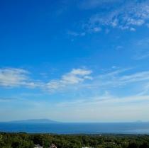 【絶景】海と七島を雄大に望む最高のロケーション