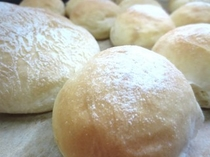 シェフの手作りパン