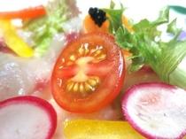 オードブル イサキのサラダ