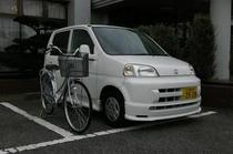 貸し自転車&貸し軽自動車