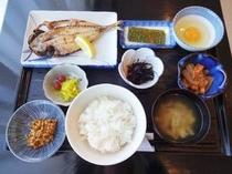 【朝食】:和食例2♪