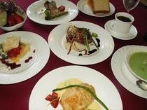 とびっきり美味しいディナー&スィーツ〜例