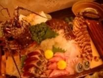 料理イメージ☆伊勢海老と車えびの舟盛りイメージ