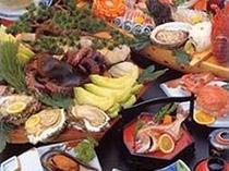 豪快な海の幸を!写真はイメージで実際の料理内容とは異なります。