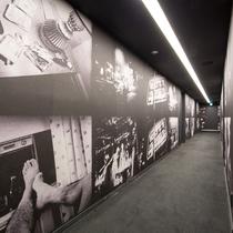 4F廊下テーマ「ニューヨーク」