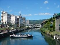 小樽の街並みと歴史を感じられる優雅なクルーズ(イメージ)