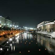 小樽運河(冬)