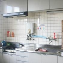 共同センターにはキッチンを完備しております