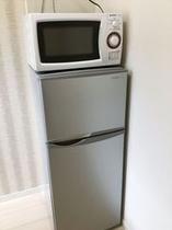 冷蔵庫 & 電子レンジ