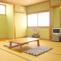 【和室10畳一例】お子様連れのご家族やグループでのご宿泊にぴったり