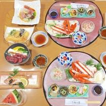 【夕食】グレードUP磯定食なら、高級魚のどぐろ付♪
