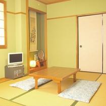 【和室6畳一例】ご夫婦やカップルなど少人数用のお部屋。