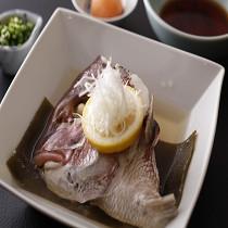 鯛の酒蒸し【2160円】