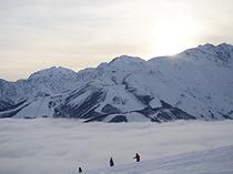 岩岳岩岳スキー場からの雲海