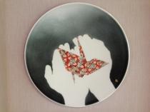 ロビー 絵皿