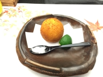 松茸コロッケ