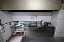 自炊部 炊事場 設備