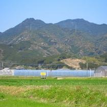 綾町の風景