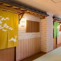 4つのコンセプトの貸切風呂「春・夏・秋・冬」