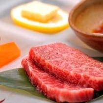 お肉もご用意しております。(プランにより)