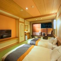 露天風呂付き客室1