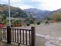 和園ガーデン(ログからの眺め)
