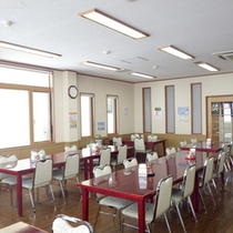 *【食堂】朝夕ともにお食事はこちらでどうぞ。