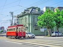 【函館市電】ハイカラな列車も走ってます