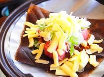 牛ヒレ肉の朴葉味噌チーズ焼き♪