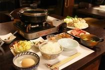 ◇冬季お夕食メニュー人気No.2〈和牛すき焼き〉1