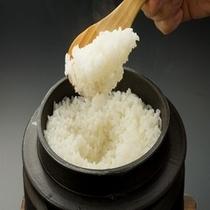 朝食(白米)