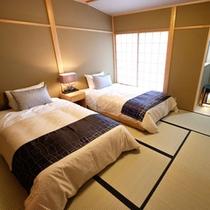 【八坂】二階<檜風呂付歌舞練場を望むお部屋:禁煙2名定員>