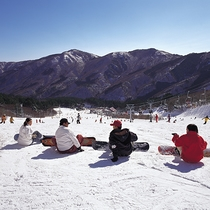スキー&スノボでのお泊りにご利用ください