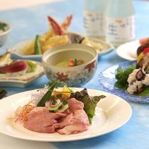 【特選膳一例】旬の厳選食材を使ったグルメコース
