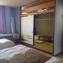 *【客室例】広々とした空間で寛げる和洋室。