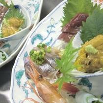 *【夕食例】旬の海の幸もお楽しみ頂けますよ!