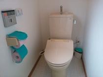 男女別ウォシュレットトイレ