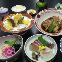 【夕定食】一例