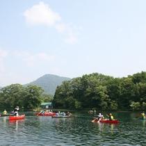 *カヌーやボートも楽しむことができます。アクティブに過ごしたい方にオススメ♪