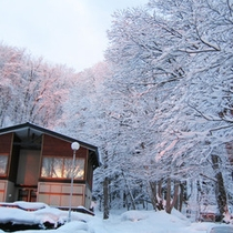 *外観/冬には雪遊びを楽しむこともできます♪